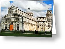 Duomo Of Field Of Dreams Greeting Card