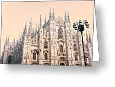 Duomo Of Milan Greeting Card