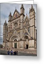 Duomo Orvieto Italy Greeting Card