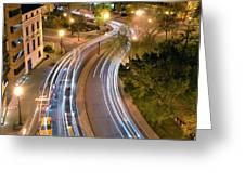 Dupont Circle Traffic I Greeting Card