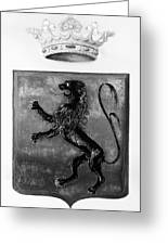 Duquesne Coat Of Arms Greeting Card