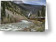 Durango And Silverton Rr Greeting Card
