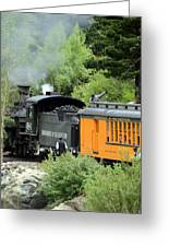 Durango To Silverton Greeting Card