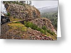 Durango Train To Silverton Dsc07599 Greeting Card