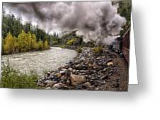 Durango Train To Silverton Dsc07626 Greeting Card