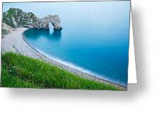 Durdle Door In The Evening Greeting Card