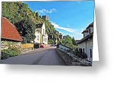 Durnstein Village Greeting Card