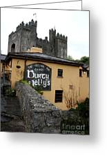 Durty Nellys And Bunraty Castle Greeting Card