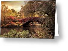 Dusk At Gapstow Greeting Card by Jessica Jenney