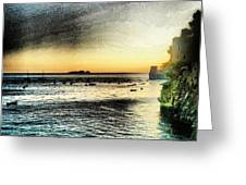 Dusk Settles In A Dream Greeting Card by H Hoffman
