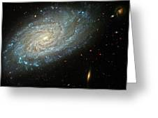 Dusty Galaxy Greeting Card