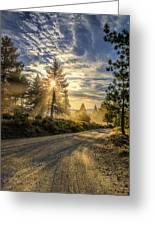 Dusty Road Greeting Card