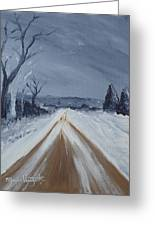 Dusty Road Greeting Card