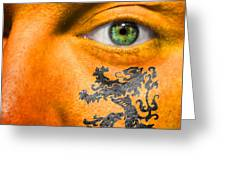 Dutch Royal Lion Greeting Card