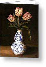 Dutch Still Life Greeting Card