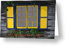 Dutch Window Greeting Card