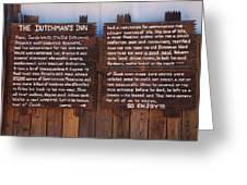 Dutchman's Inn Greeting Card