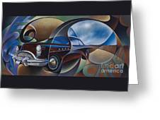 Dynamic Route 66 Greeting Card