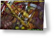 Dysmetria Of Thought In Cerebellar Ataxia 5 Greeting Card by Sandra Pena de Ortiz