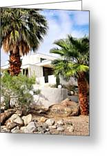 E. Stewart Williams Home Palm Springs Greeting Card