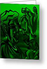 E Vincent Green Greeting Card