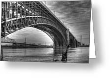 Eads Bridge Greeting Card