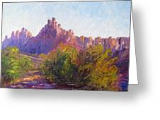 Eagle Crags Greeting Card