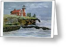 Eagle Harbor Lighthouse Greeting Card