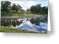 Eagle Knoll Golf Club - Hole Six Greeting Card