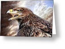 Eagle Cry Greeting Card