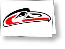 Eagle Mask II Greeting Card