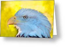 Eagle Profile Greeting Card