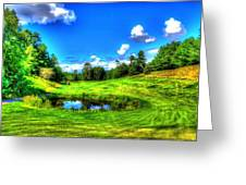 Eagle River Golf Course Greeting Card