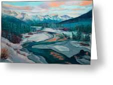 Eagle River Solstice Greeting Card