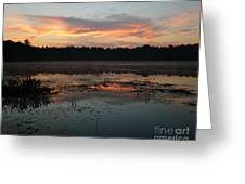 Eagle River Sunrise No.5 Greeting Card