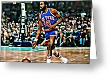 Earl Monroe Greeting Card by Florian Rodarte