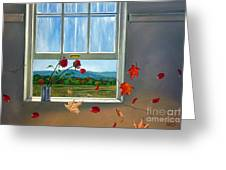 Early Autumn Breeze Greeting Card