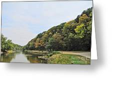 Early Autumn In Iowa Greeting Card