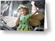 Early Evening Fairy Greeting Card