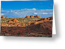 Early Evening Light At Coyote Buttes Greeting Card