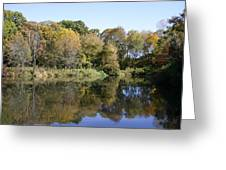 Early Fall In Uw Arboretum Greeting Card