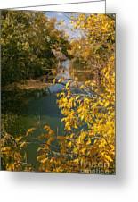 Early Fall On The Navasota Greeting Card