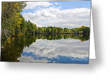 Early Fall Reflections Greeting Card