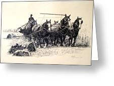 Early Harvest Greeting Card