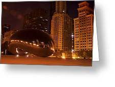 Early Hours In Chicago Greeting Card