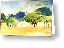 Early Morning 62 Greeting Card