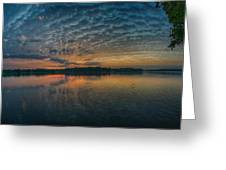 Early Morning Clouds Greeting Card