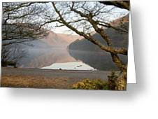 Early Morning Glendalough Greeting Card