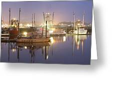 Early Morning Harbor II Greeting Card by Jon Glaser