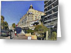Early Morning In Cannes Greeting Card
